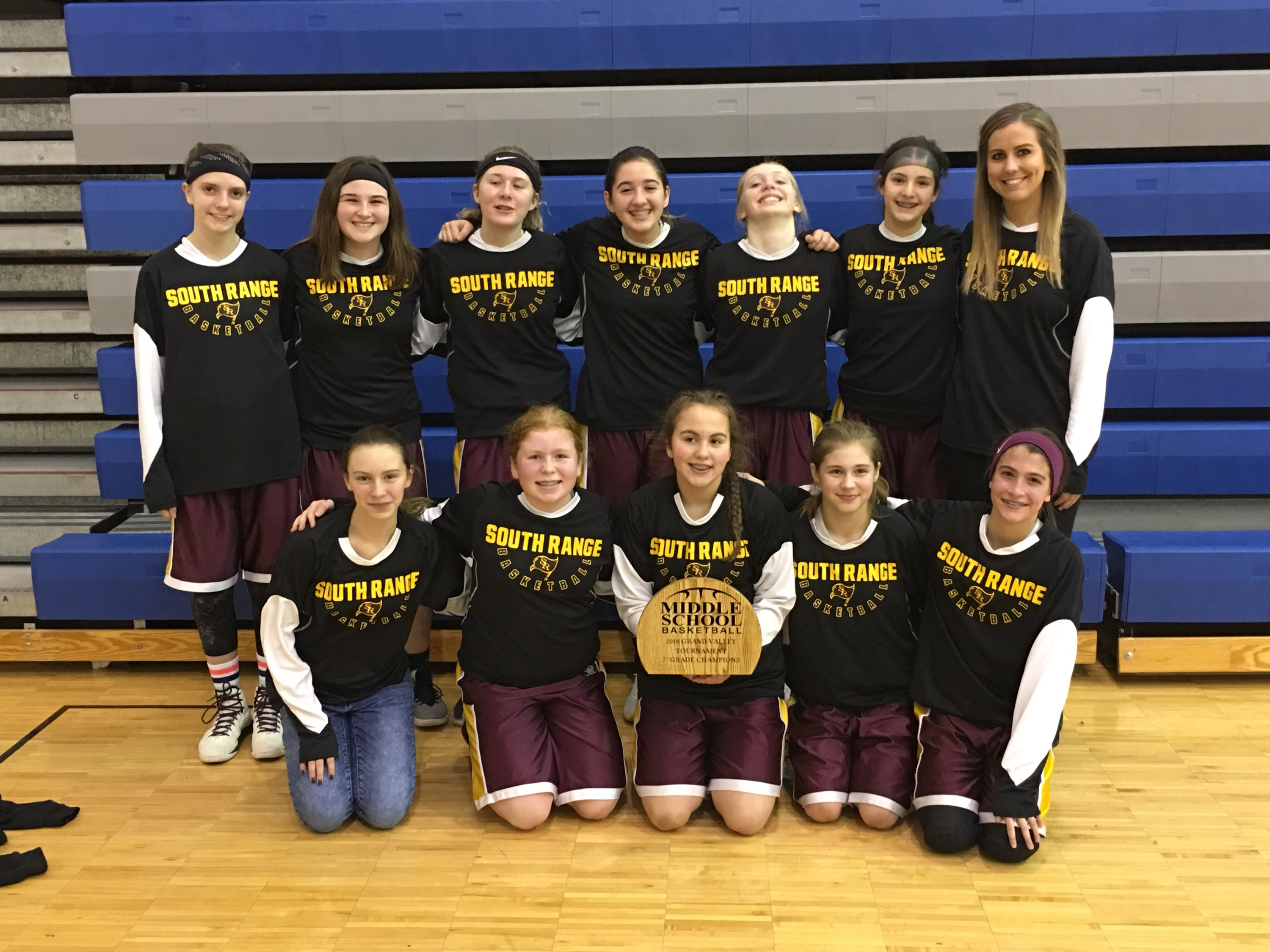 Grand Valley 7th Grade Girls BB Champs