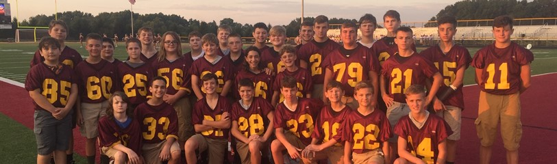 Middle School Football 2019